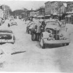 1956 THANKSGIVING SNOW STORM | Vintage photo